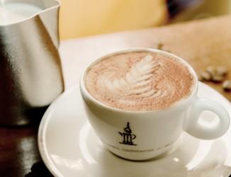 A Rosetta é uma das diversas opções de desenhos no Latte Art