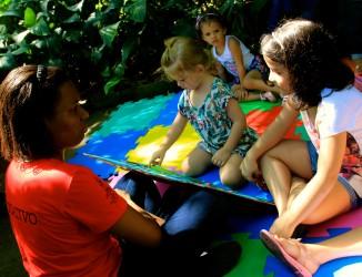 Atividades lúdicas com público infantil