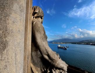 Vista da Torre do Relógio. Crédito: Gino Pasquato