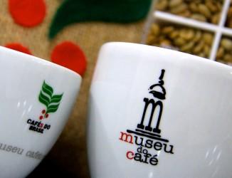 Xícaras do Museu do Café