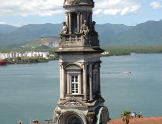Vista aérea da torre. Crédito: Tadeu Nascimento