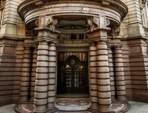 Cúpula de entrada do Museu. Crédito: André Monteiro