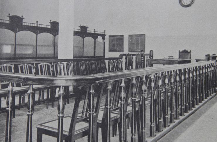 Antigo Salão do Pregão, 1919. Fonte: São Paulo Moderno