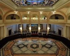 O Salão do Pregão é a área mais nobre de todo o edifício