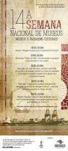 Convite Semana Nacional de Museus